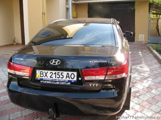 Ставим фаркоп на Hyundai Sonata(Соната)